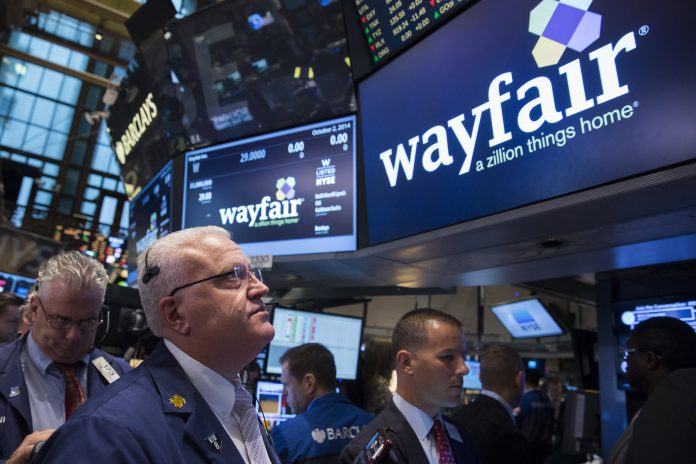 Amazon plunge drags down eBay, Etsy and Wayfair