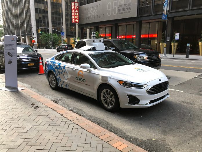 Ford and Argo AI to launch self-driving cars with Lyft by end of year