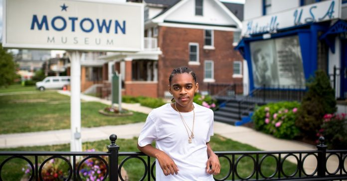 How a history lesson helped a Detroit teenager find his voice