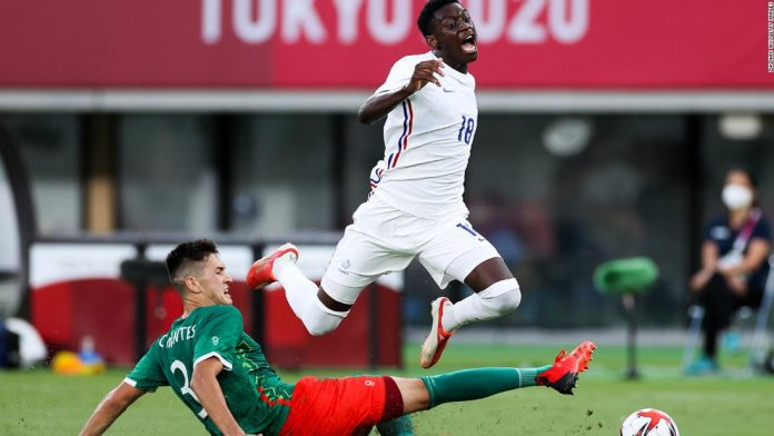 Mexico vs. France: Mexico thrashes France and Spain held as men's football competition kicks off at Tokyo 2020