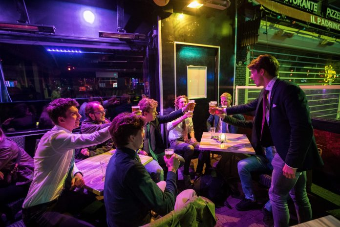 Rule-breaking in bars in Holland an issue as Covid rate soars