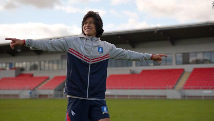 'Ted Lasso's' Cristo Fernández on his real-life history with soccer