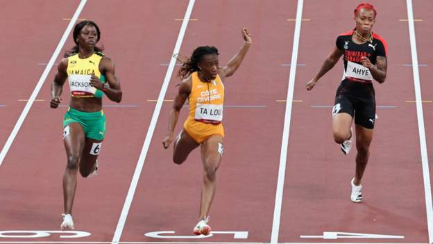 Tokyo Olympics: Ivory Coast's Marie-Josee Ta Lou storms into Olympic 100m final