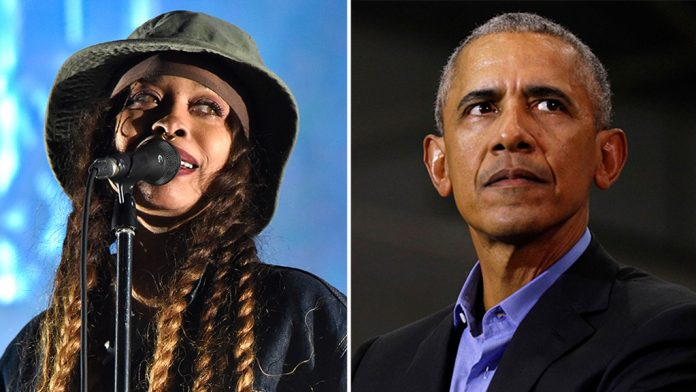 Erykah Badu apologizes to the Obamas for Martha's Vineyard party foul, being a 'terrible guest'