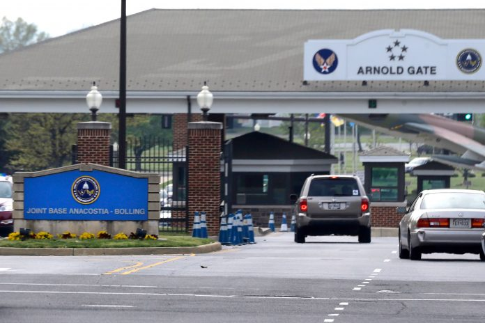 Lockdown ends at D.C. military base after suspect is detained