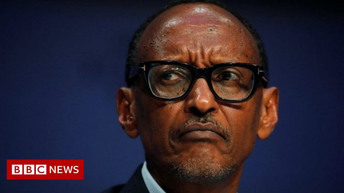 Rwandan President and Arsenal fan Paul Kagame frustrated by defeat