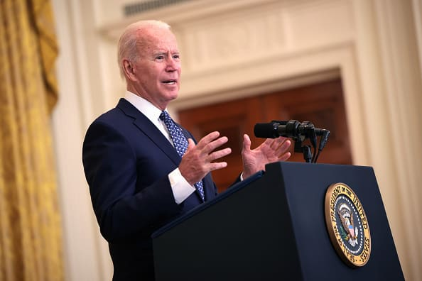 Biden announces new Covid vaccine and testing mandates for millions of U.S. workers