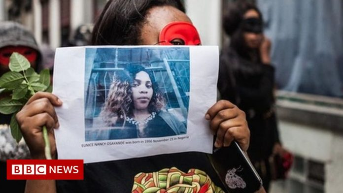 Brussels to name street after Nigerian sex worker
