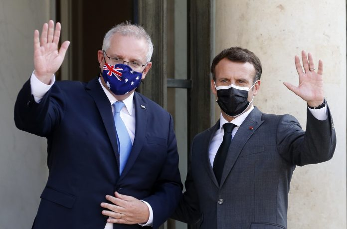 France rebukes Australia after it ditches submarine deal