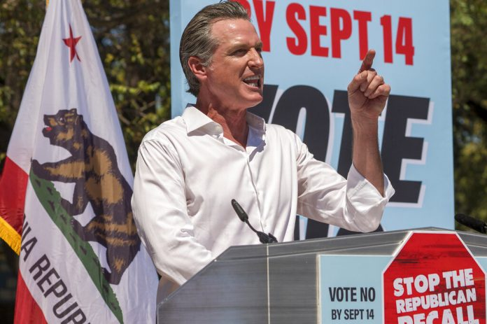 Gavin Newsom California recall election results: See the map