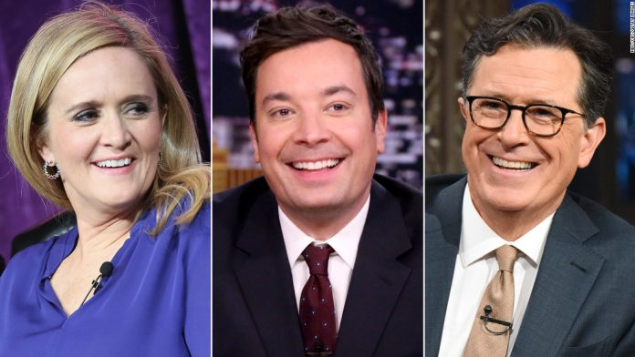Late-night hosts join forces for first ever 'Climate Night'
