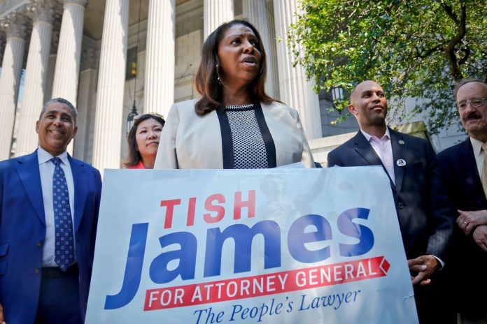Letitia James discussing run for New York governor after Cuomo's fall