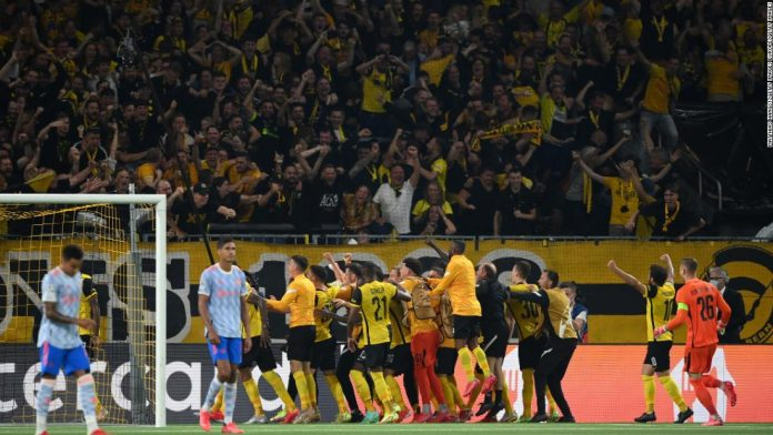 Manchester United and Cristiano Ronaldo stunned by late Young Boys winner in Champions League