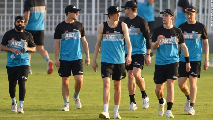 New Zealand pulls out of cricket tour of Pakistan citing security alert