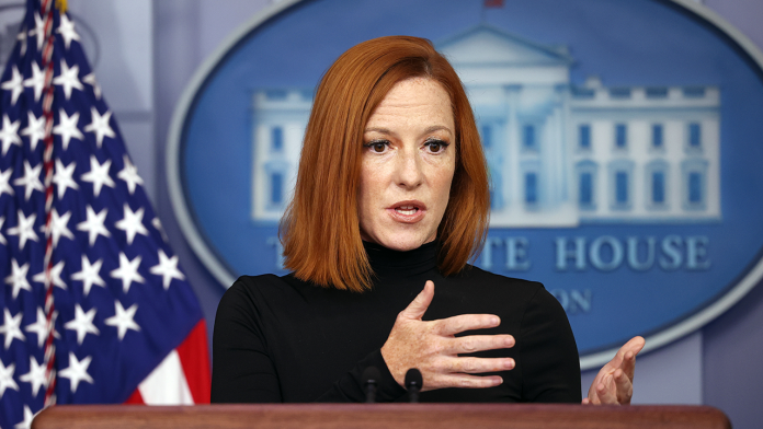 Psaki dismisses concerns over Biden's recent coughing: Not an 'issue of concern'